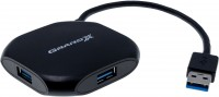 Концентратор USB 3.0 Grand-X Travel 4 порта, 480 МБ с (GH-415)