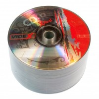 Диск CD-R 50 Videx X-Red, 700Mb, 52x, Bulk Box