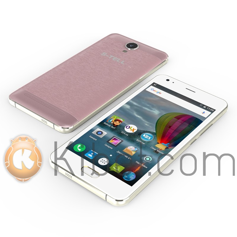 Смартфон S-Tell C551, Rose Gold, 2 Sim, 5'(1280 x 720), Mediatek MTK