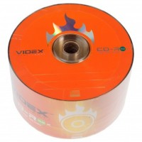 Диск CD-R 50 Videx, 700Mb, 52x, Bulk Box