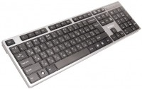 Клавиатура A4Tech KD-300 X-SLIM Gray, USB, стандартная