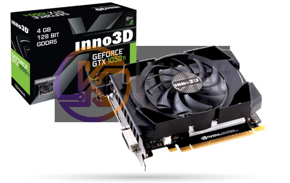 INNO3D GeForce GTX 1050 TI COMPACT - купить видеокарту  цены c683eb6c5831c