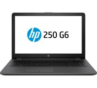 Ноутбук 15' HP 250 G6 (4LT06EA) Dark Ash 15.6', матовый LED HD (1366x768), Intel