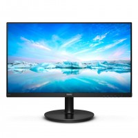 Монитор 23.8' Philips 242V8A 01 Black, WLED, VA, 1920x1080, 4 мс, 200 кд м2, 400
