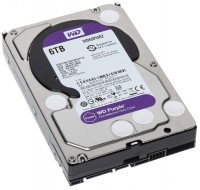 Жесткий диск 3.5' 6Tb Western Digital Purple, SATA3, 64Mb, 5400 rpm (WD60PURZ)