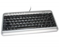 Клавиатура A4tech KL-5-R USB, Black-Silver, USB, мультимедийная