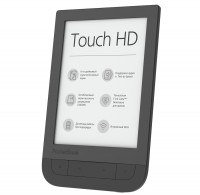 Электронная книга 6' PocketBook 631 Touch HD 2 Dark Brown (PB631-2-X-CIS) E-Ink