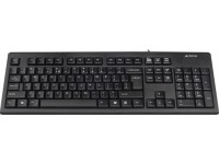 Клавиатура A4Tech KR-83 Black, PS 2, стандартная, X-Slim, большой Enter