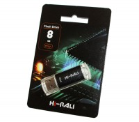 USB Флеш накопитель 8Gb Hi-Rali Rocket series Black HI-8GBVCBK