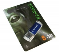 USB Флеш накопитель 8Gb Hi-Rali Rocket series Blue HI-8GBVCBL