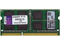 Модуль памяти SO-DIMM, DDR3, 8Gb, 1600 MHz, Kingston, 1.5V (KVR16S11 8)