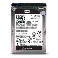 Жесткий диск 2.5' 1Tb Western Digital Black, SATA3, 32Mb, 7200 rpm (WD10JPLX)