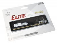 Модуль памяти 8Gb DDR4, 2666 MHz, Team Elite, 19-19-19, 1.2V (TED48G2666C1901)
