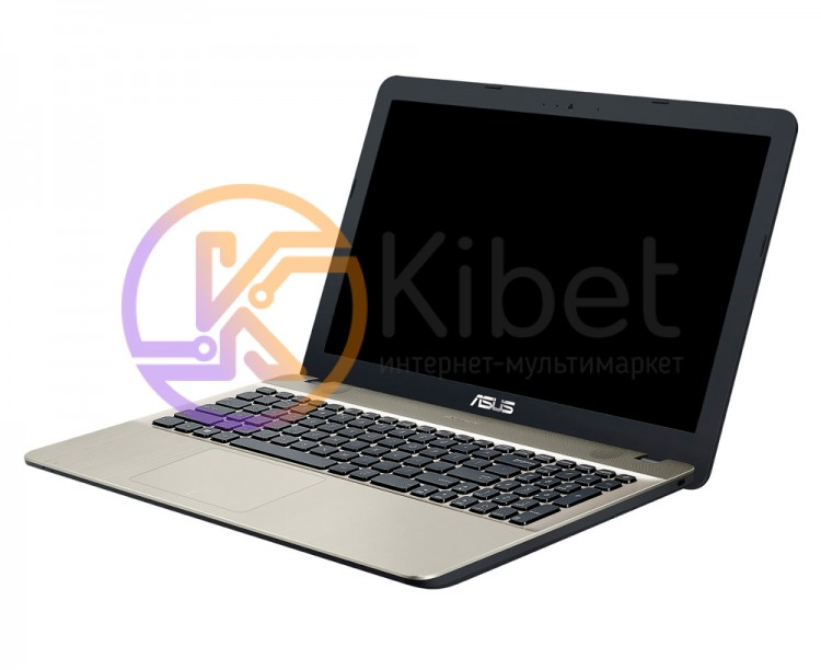 Ноутбук 15' Asus X541NA-GO121 Chocolate Black 15.6' глянцевый LED HD (1366x768),