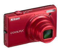 Фотоаппарат Nikon Coolpix S6100 Red, 1 2.3', 16.1Mpx, LCD 3', зум оптический 7x,