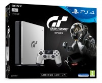 Игровая приставка Sony PlayStation 4, 1000 Gb, Black + Gran Turismo Sport