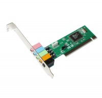 Звуковая карта Manli, PCI, 32-bit, 6-Channels (M-CMI8738-6CH) (Bulk)