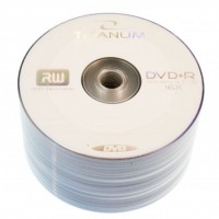Диск DVD+R 50 Titanum, 4.7Gb, 16x, Bulk Box