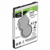 Жесткий диск 2.5' 500Gb Seagate BarraCuda, SATA3, 128Mb, 5400 rpm (ST500LM030)