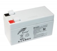 Батарея для ИБП 12В 1,3Ач AGM Ritar RT1213, Gray Case, 12V 1.3Ah, 97х43х58 мм, Q