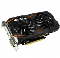 Видеокарта GeForce GTX1060 OC, Gigabyte, 6Gb DDR5, 192-bit, 2xDVI HDMI DP, 1797