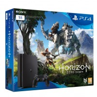 Игровая приставка Sony PlayStation 4, 1000 Gb, Black + Horizon Zero Dawn