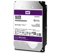 Жесткий диск 3.5' 10Tb Western Digital Purple, SATA3, 256Mb, 5400 rpm (WD100PURZ