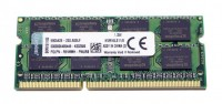 Модуль памяти SO-DIMM, DDR3, 8Gb, 1600 MHz, Kingston, 1.35V (KVR16LS11 8)