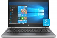 Ноутбук 14' HP Pavilion x360 14-dh1004ur (9PU44EA) Silver 14.0', Multi-touch, гл