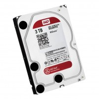 Жесткий диск 3.5' 3Tb Western Digital Red, SATA3, 64Mb, 5400 rpm (WD30EFRX)