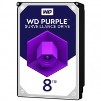 Жесткий диск 3.5' 8Tb Western Digital Purple, SATA3, 256Mb, 7200 rpm (WD82PURZ)
