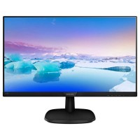 Монитор 23.8' Philips 243V7QJABF 00 Black, WLED, IPS, 1920x1080, 5 мс, 250 кд м2