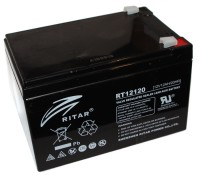 Батарея для ИБП 12В 12Ач AGM Ritar RT12120B Black Case 12V 12.0Ah 151х98х10