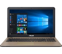 Ноутбук 15' Asus D540NA-GQ211T Black 15.6' матовый LED HD (1366x768), Intel Pent