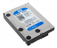Жесткий диск 3.5' 3Tb Western Digital Blue, SATA3, 64Mb, 5400 rpm (WD30EZRZ)