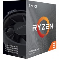 Процессор AMD (AM4) Ryzen 3 3300X, Box, 4x3,8 GHz (Turbo Boost 4,3 GHz), L3 16Mb