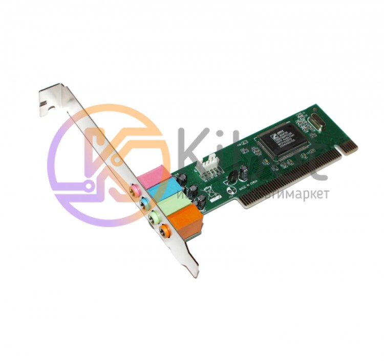 Звуковая карта Manli, PCI, 32-bit, 4-Channels (M-CMI8738-4CH) (Bulk)