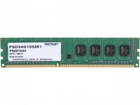 Модуль памяти 4Gb DDR3, 1333 MHz, Patriot, 9-9-9-24, 1.5V (PSD34G133381)