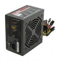 Блок питания Aerocool 800W VX800 PLUS, 120 mm, 20+4pin, 1x4+4pin, SATA x 7, Mole