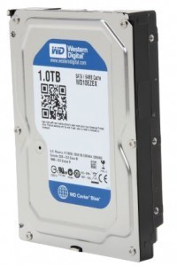 Жесткий диск 3.5' 1Tb Western Digital Blue, SATA3, 64Mb, 7200 rpm (WD10EZEX)