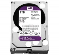 Жесткий диск 3.5' 1Tb Western Digital Purple, SATA3, 64Mb, 5400 rpm (WD10PURZ)