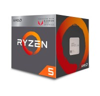 Процессор AMD (AM4) Ryzen 5 2400G, Box, 4x3,6 GHz (Turbo Boost 3,9 GHz), Radeon