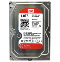 Жесткий диск 3.5' 1Tb Western Digital Red, SATA3, 64Mb, 5400 rpm (WD10EFRX) Б Н