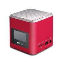 Колонки 1.0 Gemix Joy Red 3Вт 150-18000Hz пластик mini-jack 3.5 USB, F