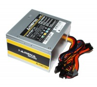 Блок питания Chieftec 500W GPA-500S8, 120 mm, 1x4pin, SATA х 3, 1x6+2pin, кабеля