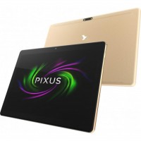 Планшетный ПК 10.1' Pixus Joker, Gold, 1920x1200, IPS, MediaTek MT6762 2.0GHz, R