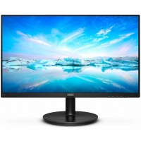 Монитор 23.8' Philips 242V8A 00 Black, WLED, VA, 1920x1080, 4 мс, 200 кд м2, 100