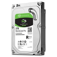 Жесткий диск 3.5' 2Tb Seagate BarraCuda Pro, SATA3, 128Mb, 7200 rpm (ST2000DM009