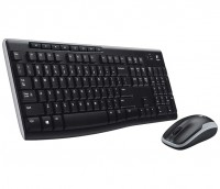 Комплект Logitech Wireless Desktop MK270 (920-004518) Black, Optical, Wireless,