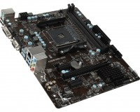 Материнская плата AM4 (A320) MSI A320M PRO-VD S, A320, 2xDDR4, Int.Video(CPU), 4